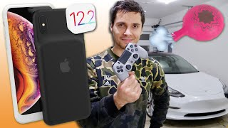 Download Tesla Fart Mode, Garage Tour, New XS Battery Case Leak & 12.2 Incoming? Video