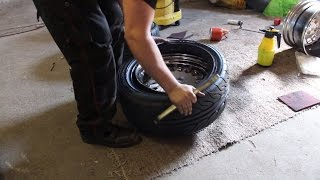 Download How to mount tires by hand: Yokohama Advan Neova AD08R Video