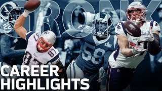 Download Rob Gronkowski's POWERFUL Career Highlights! | NFL Legends Video