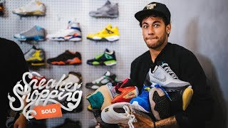 Download Neymar Goes Sneaker Shopping With Complex Video