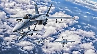 Download F/A-18E Super Hornets Formation Flight Photo Exercise Video