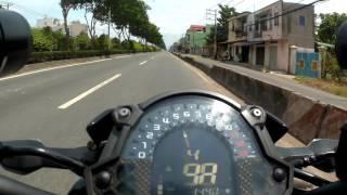 Download Z900 Tốc biến khi gặp CSGT QL 22 Hóc Môn Video