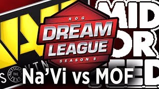 Download Navi vs Mid Or Feed Game 1, DreamLeague Season 8 live Video