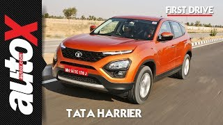 Download Tata Harrier Review | First Drive | autoX Video