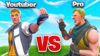 Download YOUTUBER vs. PRO In Fortnite... WHO WINS?!? Video