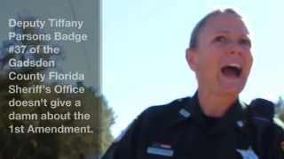 Download Gadsden County Sheriff's Deputy Tiffany Parsons Doesn't Give A Damn. Video