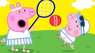 Download Peppa Pig Official Channel 🎾 Peppa Pig Plays Tennis 🎾Peppa Pig's Wimbledon Special! Video