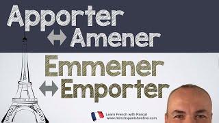 Download Apporter Amener Emporter Emmener in french Video