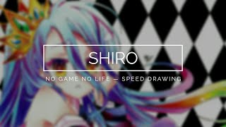 Download Shiro (No Game No Life) - Speed Drawing Video