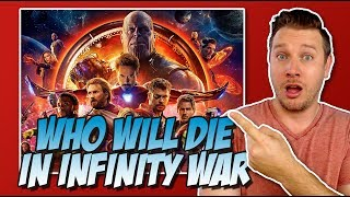 Download All 24 Avengers Infinity War Characters Ranked Least to Most Likely to DIE! Video