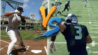 Download Can Russell Wilson Hit A Inside The Park Home Run Before He Can Get A 99 Yard Touchdown Run? Video
