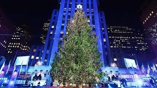 Download Rockefeller center christmas tree lighting 2016 Video