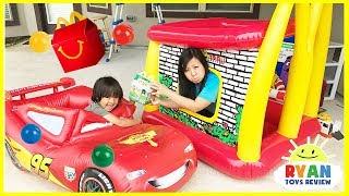 Download McDonald's Drive Thru Mommy on Disney Cars Lightning McQueen Power Wheel Ride On Car Video