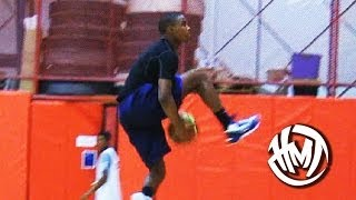 Download 14 Year Old Seventh Woods Is An INSANE Athlete! 6'2 Explosive PG! Video