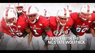 Download Run Out with the NC State Wolfpack (360 video) Video