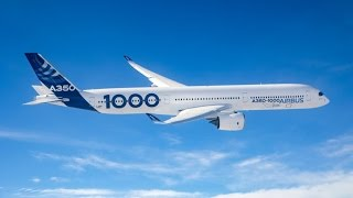 Download Airbus A350-1000 First Flight Video