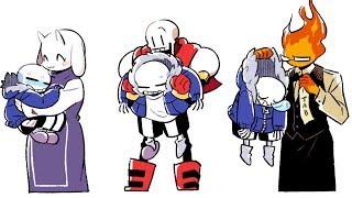 Download 【 Undertale Animation Dub Part 13 】Epic Undertale Comic dubs Compilation Video