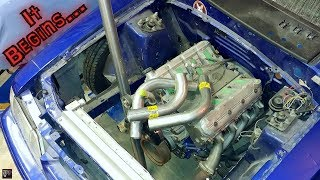 Download IT BEGINS! Sonic Stang Junkyard 5.3 LS Turbo Hotside Build Part 1 | Its a Start... Deez Nuts Video