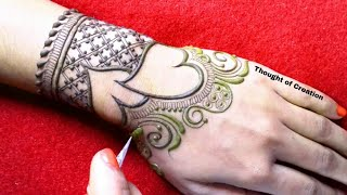 Download Valentine's Day Special Heart Shape Stylish Mehndi Design for Hands Video