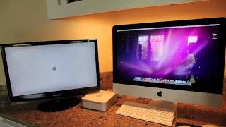Download New Quad Core I5 21.5″ iMac vs Core2Duo Mac Mini: Startup Video