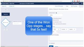 Download Salesforce Training 2016 - Process Builder Automation Video