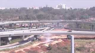 Download India's Longest flyover at Hebbal Video