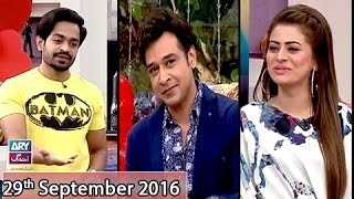 Download Salam Zindagi - Guest: Naveed Raza & Benita David - 29th September 2016 Video