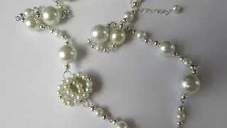 Download Chanel Style Pearl Necklace. DIY . Бусы Chanel . Video