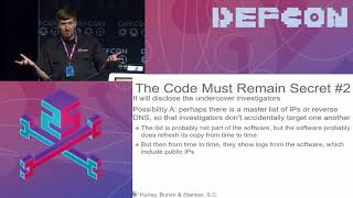 Download DEF CON 25 - Peyton Engel - Learning about Government Surveillance Software Video