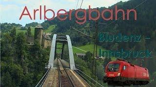 Download Führerstandsmitfahrt Arlbergbahn Bludenz - Innsbruck [HD] - Cab Ride - ÖBB 1116 Video