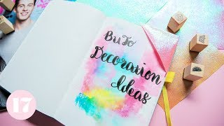 Download How to Decorate Your Bullet Journal | Plan With Me Video