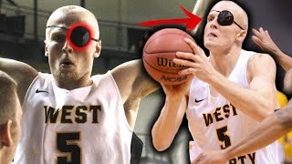 Download This College All American Plays WITH ONE EYE! 20+PPG W/ An EYEPATCH Video