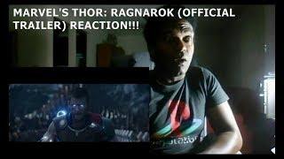 Download MARVEL'S THOR: RAGNAROK (OFFICIAL TRAILER) - REACTION!!!!! Video
