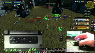 Download World of Warcraft Swifty Nonclicker ft. Razer Naga / Razer Anansi (WoW Gameplay/Commentary) Video