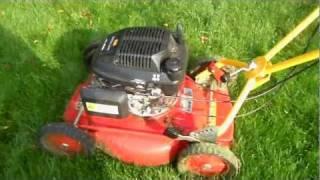 Download Klippo lawnmower with 1.0 liter Excellent Honda 1.2hp Engine Video