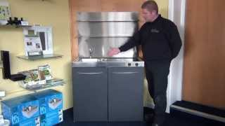 Download Mini Kitchen ideal for students and holiday homes and bedsits from TinyKitchens.co.uk Video