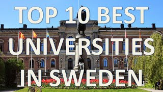 Download Top 10 Best Universities In Sweden/Top 10 Mejores Universidades De Suecia Video