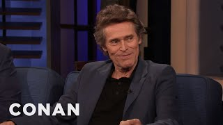 Download Willem Dafoe Had Scripted Farts In ″The Lighthouse″ - CONAN on TBS Video
