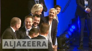 Download Europe's far-right leaders meet in Germany amid protests Video