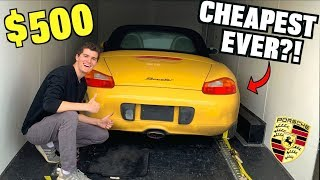 Download I Bought a TOTALED Porsche For $500 at Salvage Auction SIGHT UNSEEN! Video