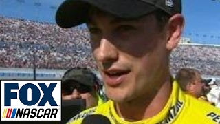 Download Joey Logano Reacts to Kyle Busch After Fight | 2017 LAS VEGAS | FOX NASCAR Video
