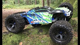 Download Traxxas E-REVO 2.0 6s Backflips & Muddy Bash! Video