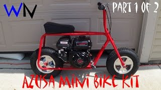 Download How to Build the Azusa Mini Bike Kit | Part 1 of 2 Video