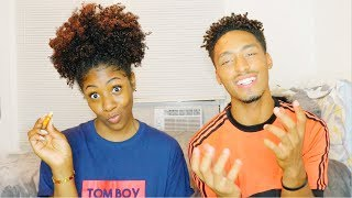 Download YEAR 1 OF OUR RELATIONSHIP😳 WE ALMOST BROKE UP... A COUPLE TIMES👀 // EAT & CHILL Video