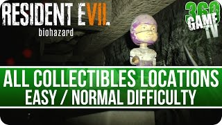 Download Resident Evil 7 All Collectibles Locations (Files / Coins / Everywheres / Tapes) on easy / normal Video