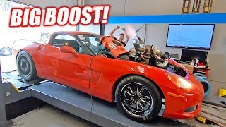 Download The Auction Corvette Goes For BIG POWER! Please Don't Blow Up... Video
