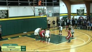 Download Thomas vs. Green Mountain Men's Basketball Video