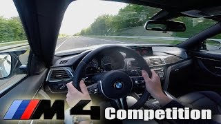 Download BMW M4 Competition F82 TOP SPEED & ACCELERATION 0-285 km/h Autobahn Test Drive Video