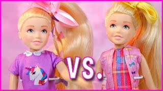 Download JoJo Siwa Kid in a Candy Store Singing Doll vs. JoJo Siwa Boomerang Doll Review Video