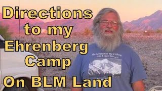 Download Directions to my Ehrenberg Camp in BLM Land Video